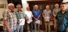 Urkunden für die langjährige Vereinsmitgliedschaft